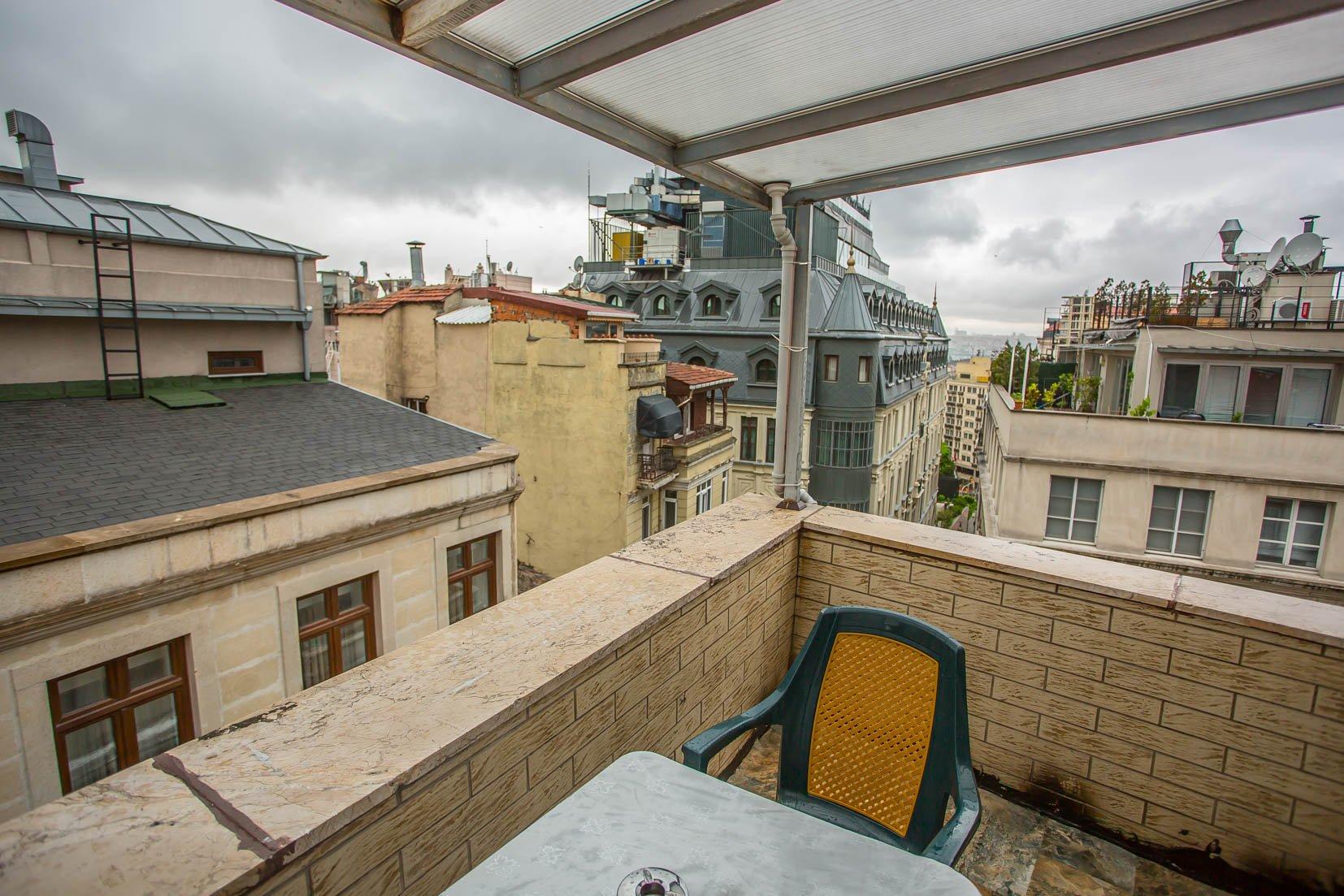 Çift Kişilik Oda Balkonlu